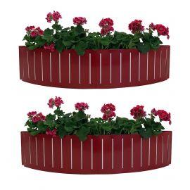 Blomlåda Ventura Funky Röd 90cm 2-pack