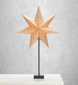 Markslöjd Solvalla bordsstjärna guld 69cm