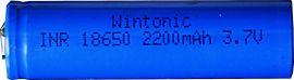 Laddbart batteri 3,7V 18650 LI-ION 4-P
