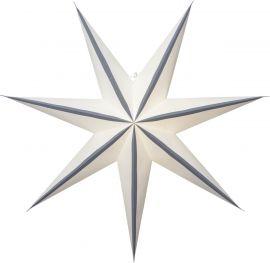 Pappersstjärna Randi grå Star Trading