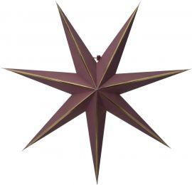 Pappersstjärna Lysa röd Star Trading
