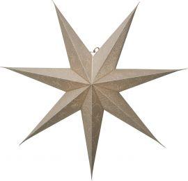 Pappersstjärna Decorus guld Star Trading