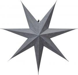 Pappersstjärna Decorus silver Star Trading