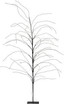Dekorationsträd Reedy svart vamvit 180cm Star Trading