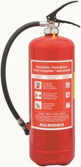 Pulverbrandsläckare, ABC, 6 kg, Röd