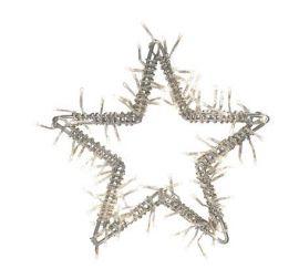 Nina Dekoration Stjärna 100 Silver