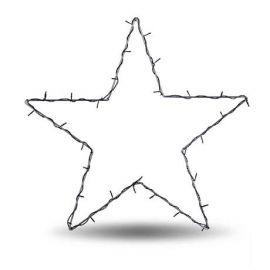 Nordgård Metallstjärna Led 75 cm Ute