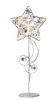 Hagaberg Bordsstjärna 45cm Led Silver