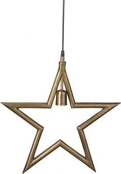 Metallstjärna Råmässing