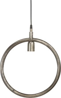Circle Fönsterlampa Råsilver 35cm