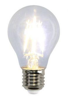 LED lampa Klar filament E27 4W(35W)