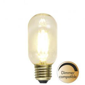 LED lampa Klar E27 Dimbar 1.5W(30W)