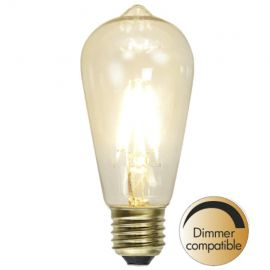 LED lampa Klar E27 Dimbar 1.5W(15W)