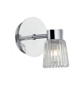 Eze badrumslampa krom IP44