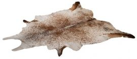 Cowhide Salt'n pepper Brown