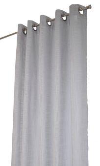 Norrsken öljettlängd grå Arvidssons Textil
