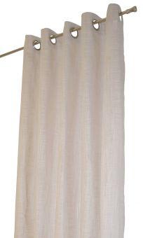 Norrsken öljettlängd beige Arvidssons Textil