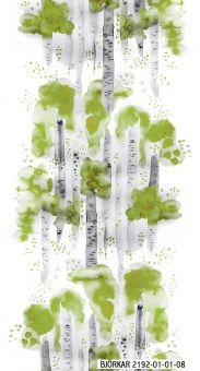 Björkar metervara 140cm grön