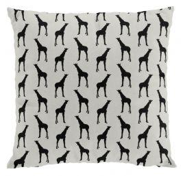 Giraff kuddfodral 50x50cm linne