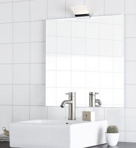 Metz spegellampa krom IP44
