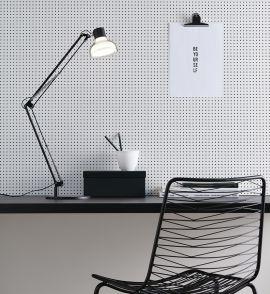 Jock skrivbordslampa svart