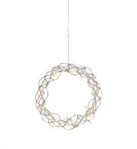 Aura Fönsterkrans 30cm Koppar LED