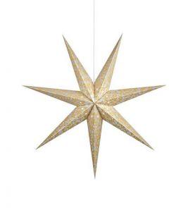 Augusta Pappersstjärna 75cm Guld