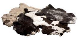 Fårskinnsfäll Wooly Naturliga fläckar 60x100cm