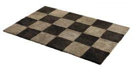Fårskinnsmatta Chess Mocha/Mushroom 120x180cm