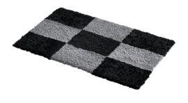 Fårskinnsmatta Chess Anthracite/Black 60x90cm