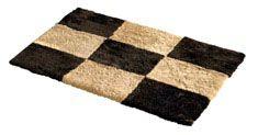 Fårskinnsmatta Chess Mocha/Honey 60x90cm