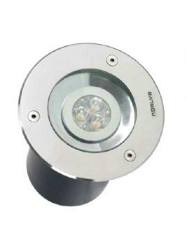 Rena Markspot Stål LED