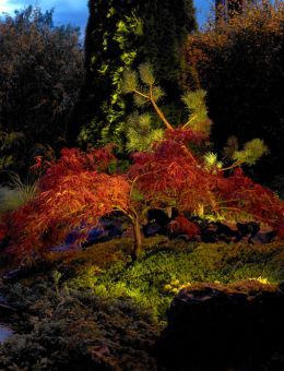 Detaljbild Rena Markspot Stål LED