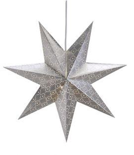Tostared Adventsstjärna 45cm Silver