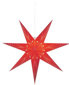 Katabo stjärna 100cm röd