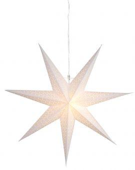 Dot stjärna 70cm vit
