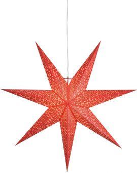 Dot stjärna 100cm röd