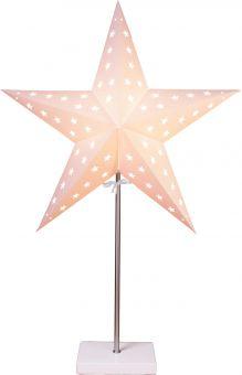 Promotion stjärna på fot vit