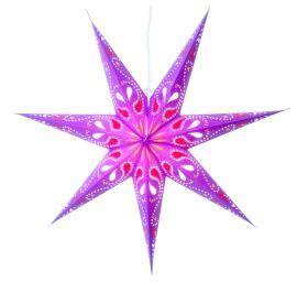 Siri lila pappersstjärna