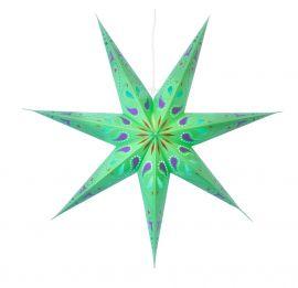 Siri grön pappersstjärna