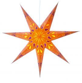 Siri orange pappersstjärna