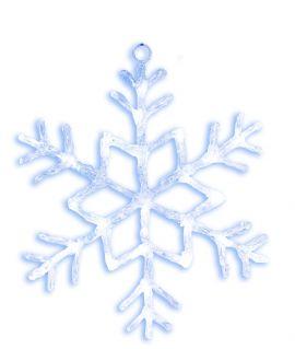 Hängande snöflinga 40cm