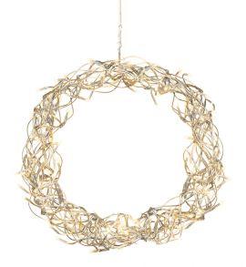 Curly krans 30cm LED