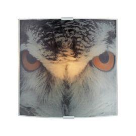 Owl Vägglampa grå