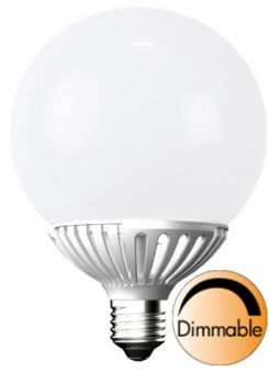 LED globlampa E27 LED opal 2900K 10W (=60W), 1-pack