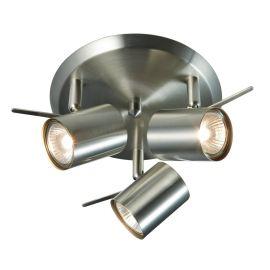 Hyssna LED taklampa 3L IP21 stål