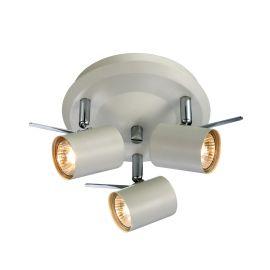 Hyssna LED taklampa 3L vit