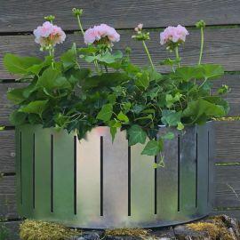 Blomlåda Väggampel Ventura Funky 45cm Zink