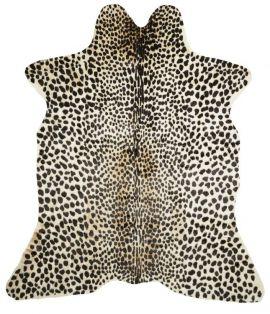 Kohud fake Leo leopardprint 150x200cm Skinnwille