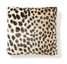 Kuddfodral kohud fake Leo leopardprint Skinnwille